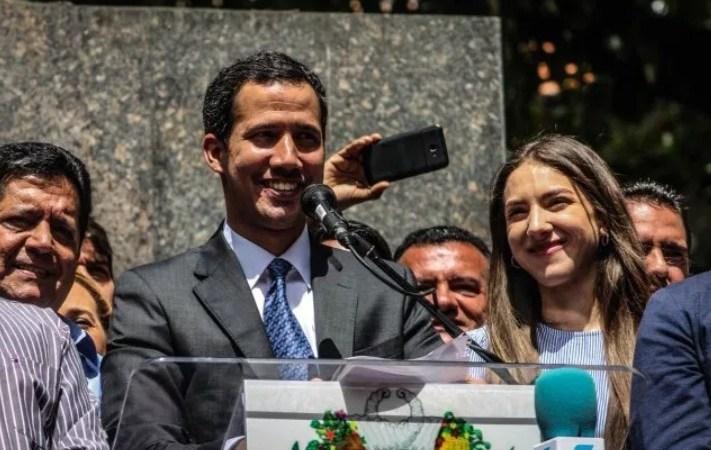 Juan Guaidó dijo que es inminente la llegada de ayuda humanitaria a Venezuela