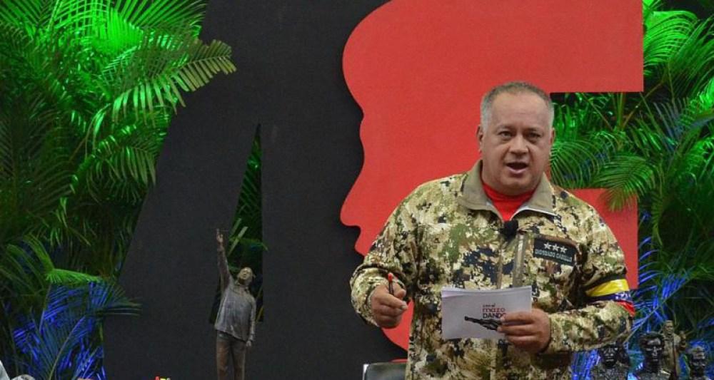 """Diosdado Cabello suspendió su programa """"Con el mazo dando"""""""