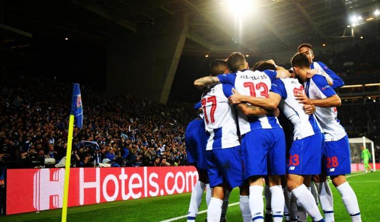 Porto avanza en la Champions League