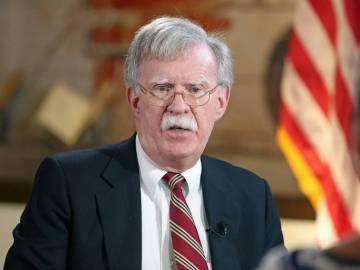 John Bolton, el asesor de seguridad nacional.