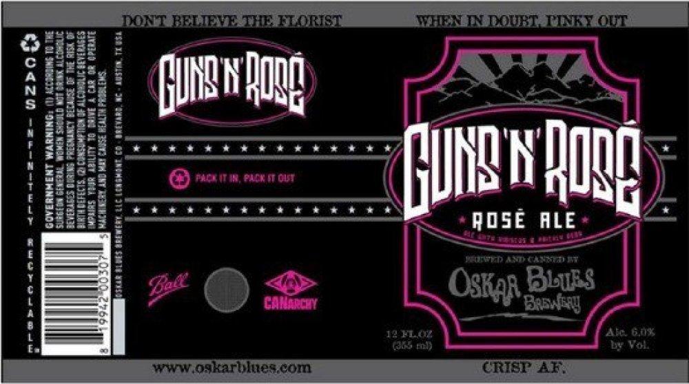 """Guns N' Roses demanda a cervecería de Colorado que lanzó marca """"Guns 'N' Rosé"""""""
