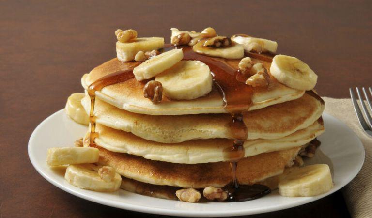 ¡Ricas Pancakes de Banana con 3 ingredientes!