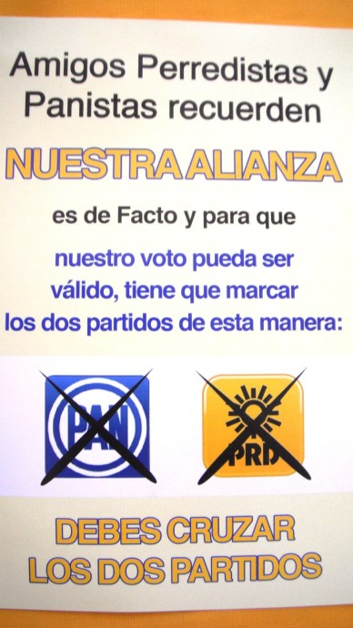 FOLLETOS AP+ôCRIFOS PARA CONFUNDIR AL ELECTORADO