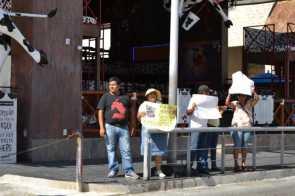 21puntaMaestros se manifestaron en Zona Hotelera (40)