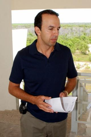 El coordinador general de Angel Ciudadano, Hernán Cordero Galindo.