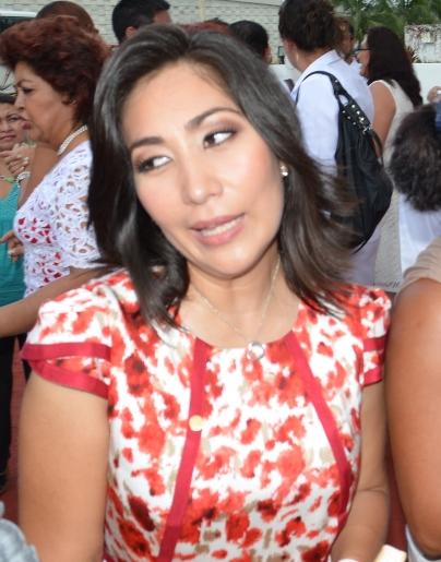 Lizbeth Gamboa Song, diputada federal del PRI.