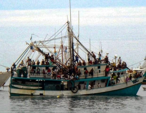 Barco langostero