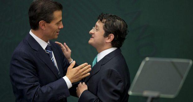 Enrique Peña Nieto y Virgilio Andrade.
