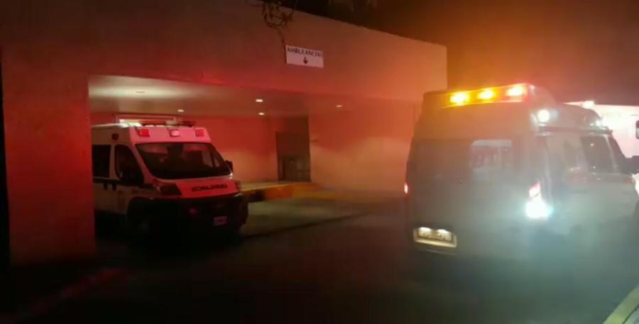 IMSS de la Cobá, a donde llevaron a uno de los heridos la noche del domingo en la Zona Hotelera de Cancún.