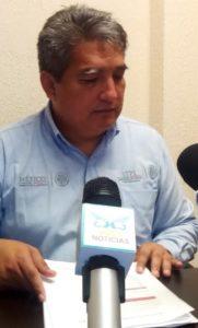 Enoel Pérez Cortez, delegado de la Secretaria del Trabajo y Previsión Social (STPS).