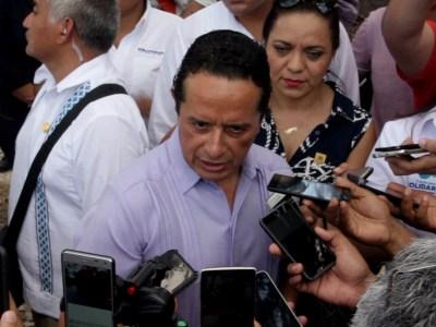 Asegura Carlos Joaquín que hay control total en el estado