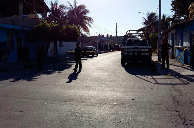 La calle donde fue atacada la lideresa de la Colosio.