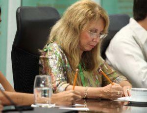 María Elba Carranza, directora del DIF.