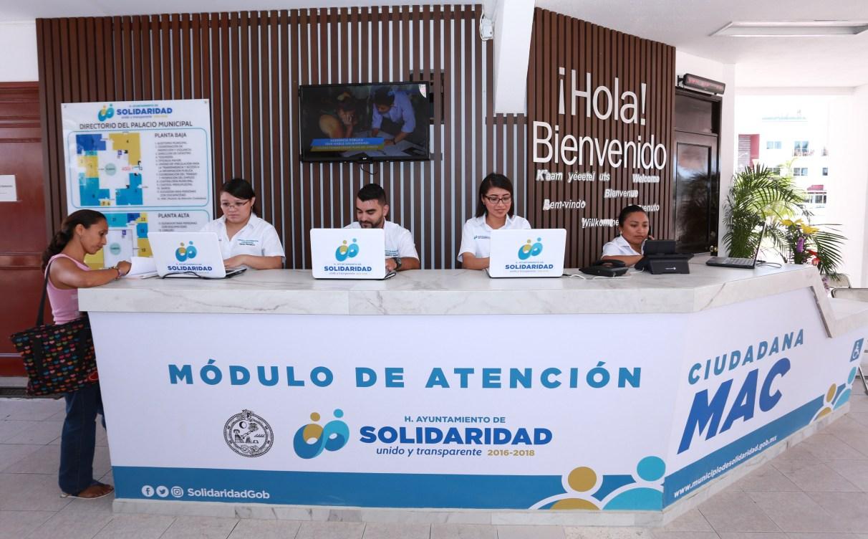 Inaugura Alcaldesa Módulo De Atención Ciudadana En Playa Del