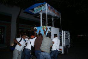 OPERATIVO RETIRO DE COMERCIO IRREGULAR EN LA QUINTA AVENIDA (1)