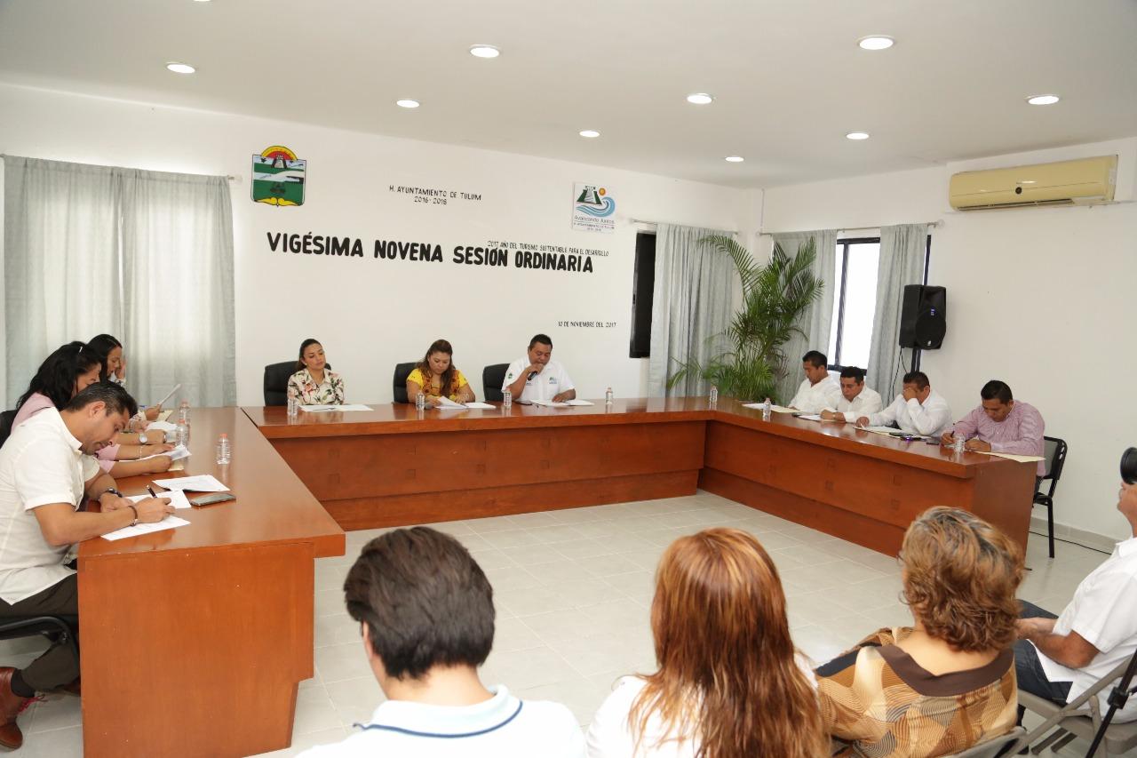 Cabildo aprueba presupuesto de Ley de Ingresos 2018