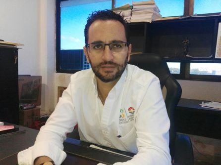 Luis Antonio Lomeli, director de Protección Civil de Benito Juárez.