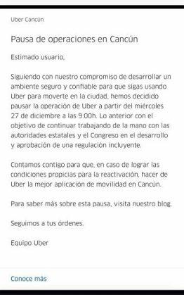Uber-comunicado