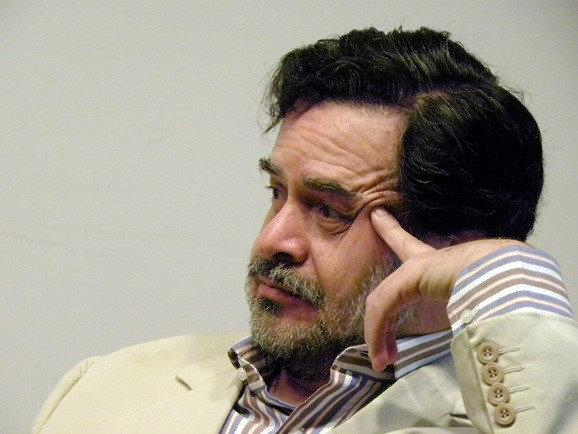 """El novelista David Martín del Campo, autor de """"El año del fuego"""""""