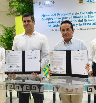 FEPADE firma convenio de colaboración con el Gobernador del Est