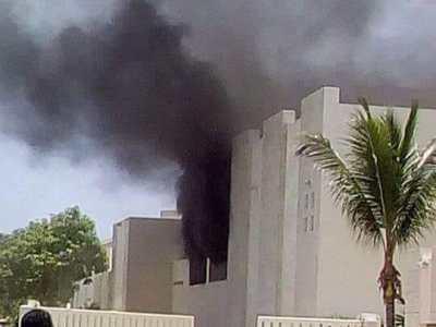 Confirman un muerto en incendio en hotel de Playa Mujeres que dejó varios heridos