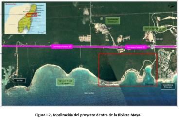 """Proyecto denominado """"Mejoramiento y estabilización de las zonas de playa y marina de las Bahías de Chemuyil y Chemuyilito"""" y promovido por la empresa Promotora Ecotur, S.A. de C.V."""
