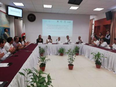 Tras entregar la policía a Capella, Mara Lezama dice que continúan revisando el marco jurídico del Mando Único en Cancún