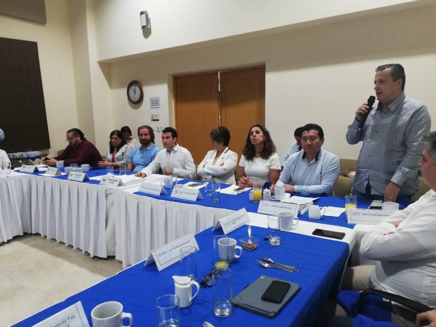 se aprobó la reelección de Iván Ferrat, como presidente de Asociados Náuticos de Quintana Roo