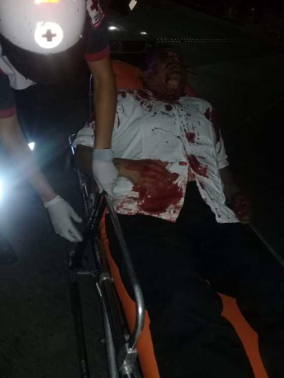 atacan a taxista en r99 (1)