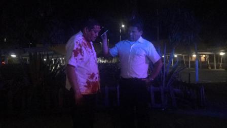 atacan a taxista en r99 (7)