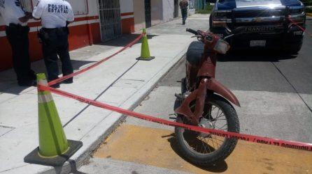 ROBO DE MOTOCILETA EN CHETUMAL (1)