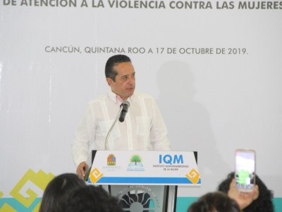 """""""SIEMPRE HAY PELIGRO"""": Tras el anuncio del Grand Island Cancún, reconoce Gobernador peligro de sobresaturación de servicios en Zona Hotelera"""