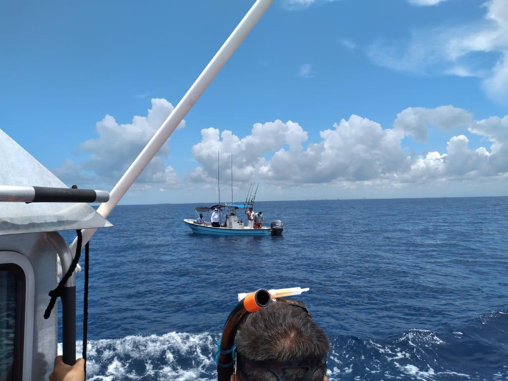 Rescata Secretaría de Marina a seis personas a la deriva en ...