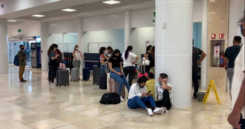 Aumentan a 382 los vuelos programados este sábado en el Aeropuerto Internacional de Cancún