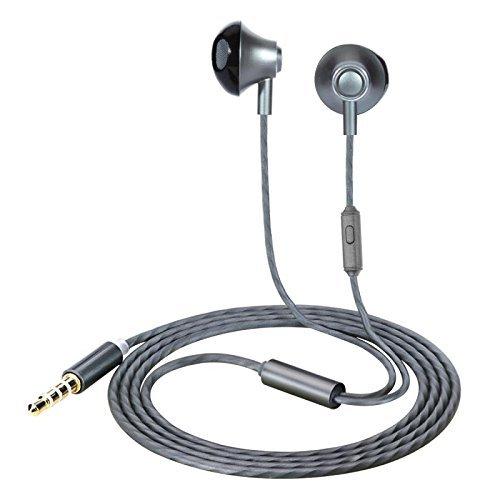 Hhusali Earbuds, Wired In-Ear Metal Earphones, Stereo Bass