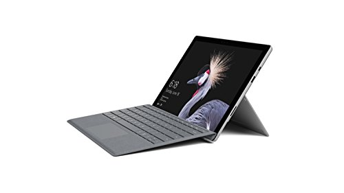 Surface Pro 5th Gen Intel Core m3. 4GB. 128GB SSD with Surface Signature Type Cover – Platinum – NoticeBreeze