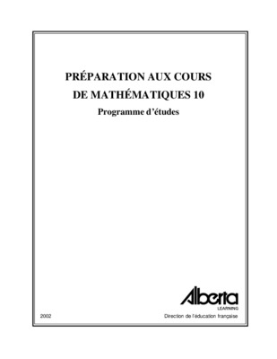Mathematiques 3000 Secondaire.pdf notice & manuel d