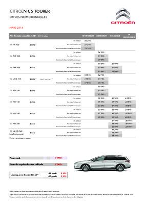 Faisceau Citroen C5 Tourer Attelage.pdf notice & manuel d
