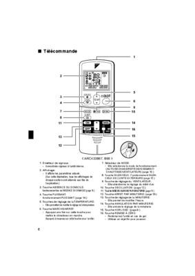 Telecommande Daikin Arc433b67.pdf notice & manuel d