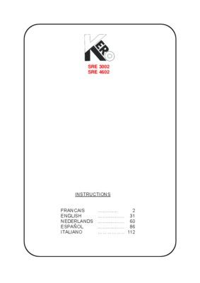 Notice Kanzai Sre 3002 S.pdf notice & manuel d'utilisation
