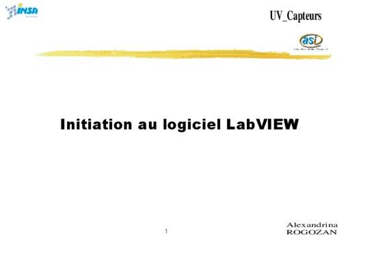 Labview Programmation Et Application.pdf notice & manuel d