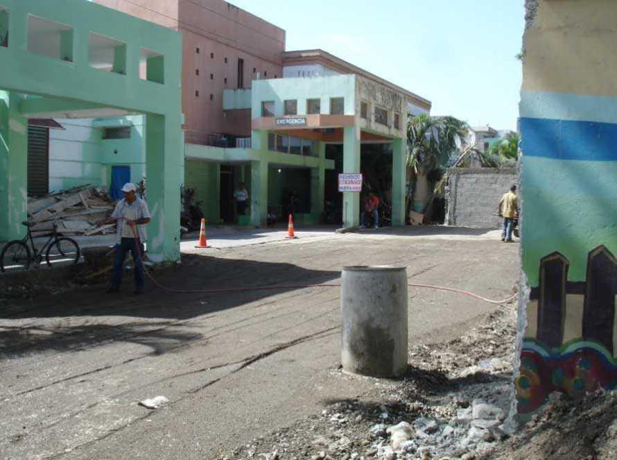 Noticias en Bonao   Temen colapso hospital Pedro Emilio de Marchena