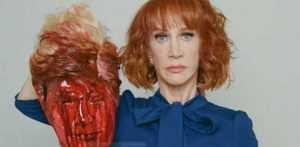 CNN despide a Kathy Griffin que 'decapitó' a Donald Trump