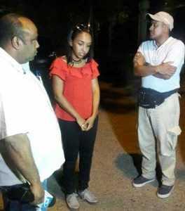Periodista y camarógrafo canal 29 descubrieron depredación de río