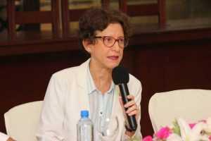 La magistrada Carmen Imbert Brugal, miembro titular del Pleno de la Junta Central Electoral (JCE), llamó a las mujeres de los distintos estamentos sociales