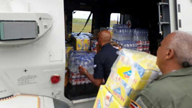 RD envía más de 90 mil raciones alimentarias a las Antillas Menores