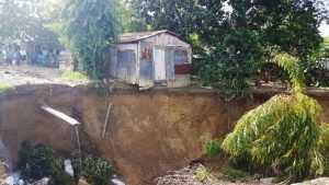 Al menos seis viviendas colapsaron en barrio de Cienfuegos
