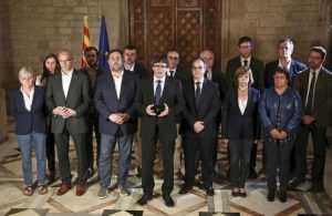 """Carles Puigdemont: """"Nos hemos ganado el derecho a un Estado independiente"""""""