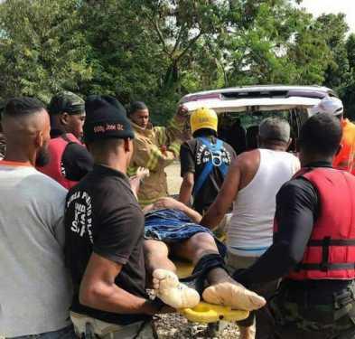 Hallan cadáver segundo hombre fue arrastrado por aguas río Camú
