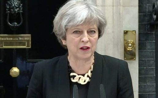 Frustran atentado contra Theresa May